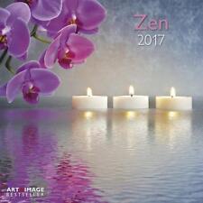 CALENDRIER 2017 -  ZEN - 30 x 30 cm