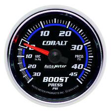 Autometer 6108 Cobalt Vac/Boost Pressure Press Gauge, 2-1/16 in.