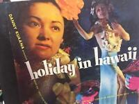 Danny Kuaana Holiday in Hawaii Vtg 4 Record Album Set 1948 Capitol Vinyl Guitar