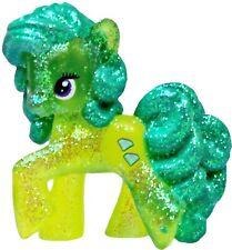"My Little Pony FiM Blind Bag Wave #10 Transparent Glitter Green Jewel Figure 2"""