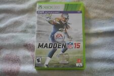 Madden NFL 15 (Microsoft Xbox 360, 2014) GREAT CONDITION