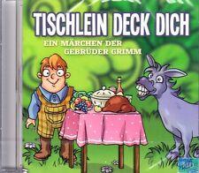 Fiaba CD + Fratelli Grimm + TAVOLINO DECK ti/3 molle + Audiolibro Bambini +