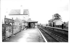 AB1 Real Railway Photograph LSWR Holsworthy Station 1965