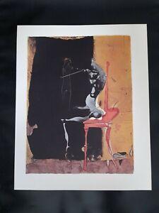 Paul Wunderlich - lim. Farbdruck Graphik Lithografie Druckgrafik 1974 signiert