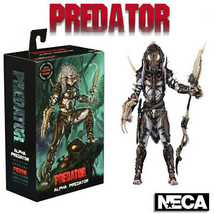 """NECA Ultimate Alpha Predator 100th Special Edition 7"""" Action Figure Official New"""
