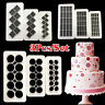 3Pcs Plastic Cookie Sugarcraft Fondant Cake Mold Cutter Chocolate Baking Tool
