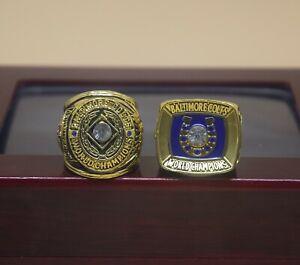2pcs ring 1958 1970 Baltimore Colts Championship Ring -*-*
