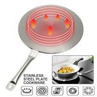 Induction Cooker Hob Heat Diffuser Disc Adapter Plate Saucepan Pot Frying Pan