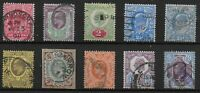 Selection Of KEVII-10 Items. Good/FU. Fresh Appearance-VGC.  Ref.1193