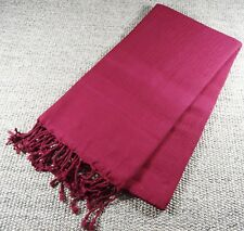 Turkish File Premium Quality Hamam Peshtemal & Beach Towel Burgundy