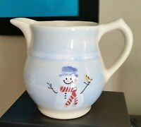 "Hartstone SNOW PEOPLE 5 3/4"" 32 oz Pitcher"