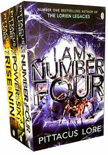The Lorien Legacies Series Pittacus Lore Collection 3 Books Set I Am Number Four