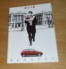 FOLLETO De Renault Clio 1993 - 1.8 16 V RSI 1.2 1.4 1.9d RL RN RT Dolls
