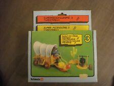 Smurf Smurfs Schlumpf Schtroumpf 4.0603 WESTERN PLAYSET IN OLD BOX