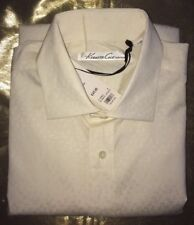 "NWT Kenneth Cole SC Basic Jacqua Cream Shirt (D163845) 16"" RRP £65"