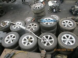 "2008 Nissan Navara/Pathfinder Set of 4, Six Stud17"" Alloy Wheels&Tyres 255/65/17"