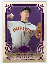 2013 Topps Triple Threads #54 Tim Lincecum Amethyst Parallel #517/650