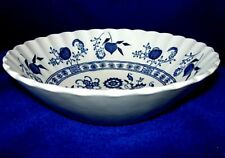 J.& G.MEAKIN Blue Nordic Cereal Bowl - England