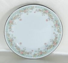 Noritake China Dinner Plate Spring Field #2932 DISCONTINUED 1979-1986 White
