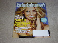 RINGER SARAH MICHELLE GELLAR #1170 September 2011 ENTERTAINMENT WEEKLY MAGAZINE