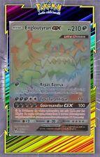 Engloutyran GX Secret -SL4:Invasion Carmin-116/111-Carte Pokemon Neuve Française