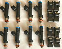 8 1250cc 120LB INJECTORS LS2 Corvette C6 Z06 CHEVY CHEVROLET High Impedance