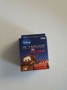 Disney PICTIONARY DVD Game - REPLACEMENT CARDS - Genuine