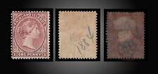 1894 FALKLAND ISLANDS VALUE 1d CLARET PERF 14.1/2 MINT H SCT. 7 SG. 21