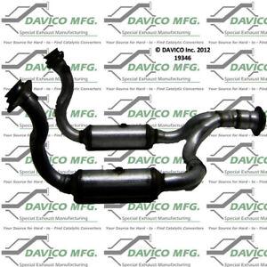 Catalytic Converter-Exact-Fit Front Davico Exc CA 19346