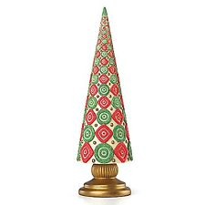 Candy Cane Topiary Figurine