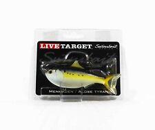 Live Target MHS110MS605 Swimbait Menhaden 4.5 Inch Natural (0408)