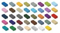 ☀️LEGO 2x4 Bricks YOU CHOOSE THE COLOR x200 Bulk Lot Parts Pieces Building City