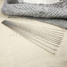 36cm 44 Sizes Stainless Steel Double Pointed Weaving Needles Knitting Needles