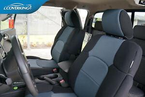 Honda Ridgeline Custom Front Seat Covers - Coverking Neosupreme - Made to Order
