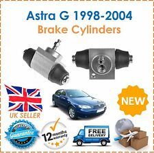 For Vauxhall Astra MK4 1998-2004 TWO Rear Wheel Brake Cylinders x2 New