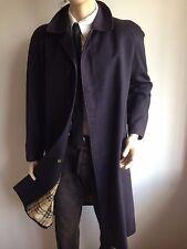 BURBERRYS Homme S small 36-40 Carreaux Doublé trench coat imperméable Veste