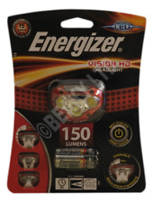 Energizer Vision HD LED Headlight & AAA Batteries (150 Lumens) [HEAD150]