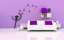 Wall Vinyl Sticker Decals Mural Room Design Art Dandelion Flower Nature bo1100