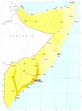 La Somalia. economia commercio industria agricoltura allevamento risorse 1973 OLD MAP