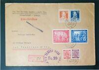 Germany 1948 Large Censor Envelope to USA (II) - Z3466