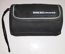 Black Original Nintendo Game Boy Advance Travel Bag Case Blue&Black used