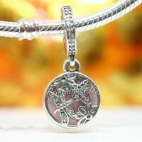 Authentic Pandora Sterling Silver Springtime CZ Charm 791843EN40