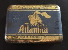 Antike Tabak Dose Atlantha Blechdose