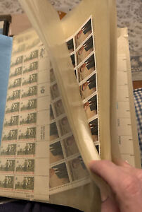 Unused US postage Stamps Over $85 FV Mostly 8 Cent & 10 Cent