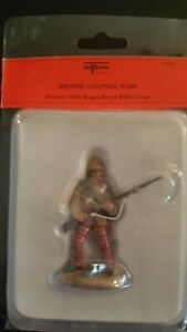 Del Prado Toy soldier Rare- from the end days, British soldier, Royal Rifle Corp