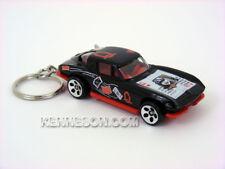 Custom Keychain 1963 Chevrolet Corvette Split Window Dealer's Choice Black