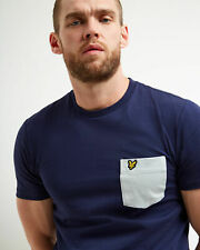 Lyle and Scott Men Contrast Pocket T-shirt - Cotton