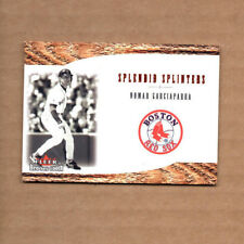 2001 Fleer Red Sox 100th Splendid Splinters SS5 Nomar Garciaparra Boston Red Sox