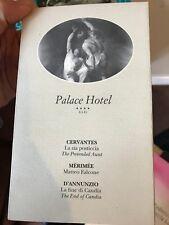 PALACE HOTEL BARI: CERVANTES LA ZIA POSTICCIA, MERIMEE MATTEO FALCONE ...