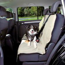 Trixie Car Seat Cover 1.4x1.2m Beige Protect Dirt Hair Pet Dog Water Repellent
